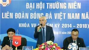 Đại hội VFF có thể hoãn, Chủ tịch Hữu Thắng bức xúc vì án phạt của CLB TP.HCM