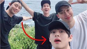 'Mãn nhãn' với loạt ảnh nghỉ hè của V (BTS) cùng dàn bạn thân toàn mỹ nam nổi tiếng
