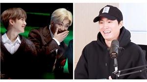 'Chết cười' với màn bon chen của RM khi Suga đang nói chuyện cùng Tablo Epik High