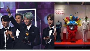 Trang phục của BTS sẽ được trưng bày tại bảo tàng danh giá Grammy
