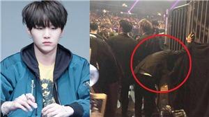 Hình ảnh BTS kiệt sức sau màn trình diễn trên sân khấu MAMA