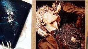 Ngắm chân dung các 'chàng thơ' BTS được fan vẽ bằng nước cà phê