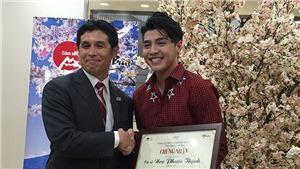 Noo Phước Thịnh chính thức trở thành Đại sứ Thiện chí Du lịch Nhật Bản