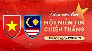 VIDEO: Vé bóng đá Việt Nam vs Malaysia chính thức mở bán qua VinID từ 10h sáng ngày 19/9