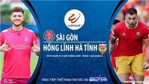 Soi kèo bóng đá Sài Gòn vs Hà Tĩnh. TTTT HD Trực tiếp bóng đá Việt Nam