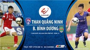 VIDEO: Soi kèo bóng đá Quảng Ninh vs Bình Dương. Trực tiếp bóng đá V-League 2020