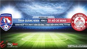 Soi kèo nhà cái Quảng Ninh vs TPHCM. VTV5. TTTV. Trực tiếp bóng đá Việt Nam hôm nay