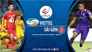 VIDEO: Soi kèo bóng đá Viettel vs Sài Gòn. Trực tiếp bóng đá V-League 2020