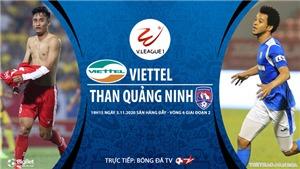 VIDEO: Soi kèo nhà cái. Viettel vs Quảng Ninh. Trực tiếp bóng đá Việt Nam 2020