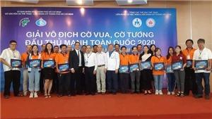 Khởi tranh giải cờ Vua, cờ Tướng đấu thủ mạnh toàn quốc Cúp Nam Á Bank 2020