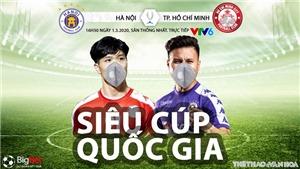 VIDEO Soi kèo nhà cái TPHCM vs Hà Nội. VTV6 trực tiếp Siêu Cúp quốc gia