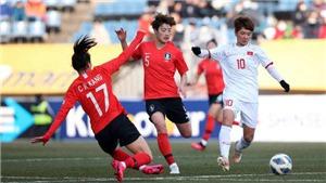 Kết quả bóng đá nữ Việt Nam 0-3 Hàn Quốc: Lực bất tòng tâm