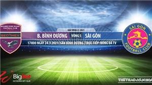 Soi kèo nhà cái Bình Dương vs Sài Gòn. BĐTV. Trực tiếp bóng đá Việt Nam hôm nay