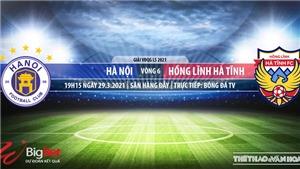 Soi kèo nhà cái Hà Nội vs Hà Tĩnh. BĐTV. Trực tiếp bóng đá Việt Nam hôm nay