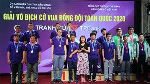 400 kỳ thủ dự giải vô địch cờ Vua đồng đội toàn quốc