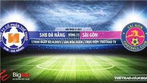 Soi kèo nhà cái Đà Nẵng vs Sài Gòn. TTTV. Trực tiếp bóng đá Việt Nam hôm nay