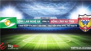 VIDEO Soi kèo nhà cái SLNA vs Hà Tĩnh. VTV6, VTV5, TTTV, trực tiếp bóng đá Việt Nam hôm nay