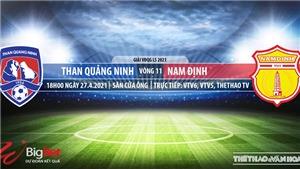 Kèo nhà cái Quảng Ninh vs Nam Định. VTV6. VTV5. Trực tiếp bóng đá Việt Nam hôm nay