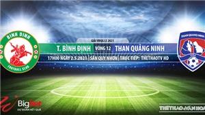 Soi kèo nhà cái Bình Định vs Quảng Ninh. TTTV. Trực tiếp bóng đá Việt Nam hôm nay