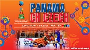 VIDEO Futsal Panama vs Séc, Futsal World Cup 2021