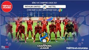 Kèo nhà cái. Soi kèo Viettel vs Pathum Utd. VTC3 trực tiếp bóng đá AFC Champions League