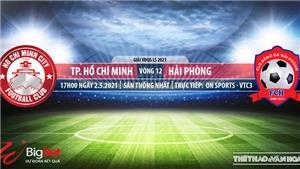 Soi kèo nhà cái TPHCM vs Hải Phòng. VTC3. Trực tiếp bóng đá Việt Nam hôm nay