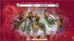VIDEO Soi kèo nhà cái Indonesia vs UAE. VTV6 trực tiếp bóng đá vòng loại World Cup 2022