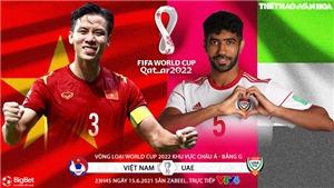VIDEO Soi kèo Việt Nam vs UAE. Kèo nhà cái UAE vs Việt Nam. VTV6 trực tiếp bóng đá
