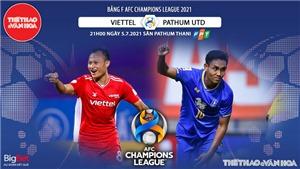 VIDEO Soi kèo nhà cái Viettel vs Pathum Utd. VTC3 trực tiếp bóng đá Cúp C1 châu Á