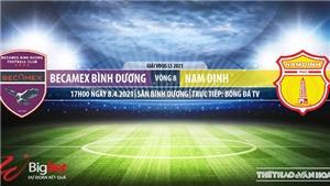 Soi kèo nhà cái Bình Dương vs Nam Định. BĐTV. Trực tiếp bóng đá Việt Nam hôm nay