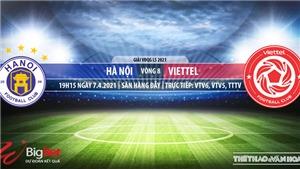 Soi kèo nhà cái Hà Nội vs Viettel. VTV6. BĐTV Trực tiếp bóng đá Việt Nam hôm nay