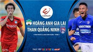 Soi kèo nhà cái HAGL đấu với Quảng Ninh. VTV6 trực tiếp bóng đá V League 2020