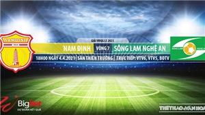 Soi kèo nhà cái Nam Định vs SLNA. VTV6. VTV5. BĐTV. Trực tiếp bóng đá Việt Nam hôm nay