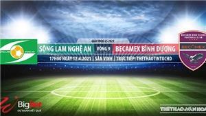 Soi kèo nhà cái SLNA vs Bình Dương. TTTT HD. Trực tiếp bóng đá Việt Nam hôm nay