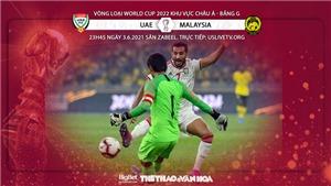 VIDEO Soi kèo nhà cái UAE vs Malaysia. Trực tiếp bóng đá vòng loại World Cup 2022