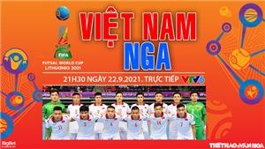 VIDEO Futsal Việt Nam vs Nga, Futsal World Cup 2021