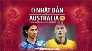 VIDEO Nhật Bản vs Úc, vòng loại World Cup 2022