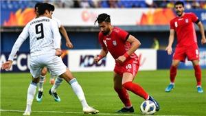 Soi kèo U23 Iran vs U23 Hàn Quốc. VCK U23 châu Á 2020. VTV6 trực tiếp