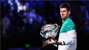 Bộ mặt nào của Djokovic tại Rolex Paris Masters?