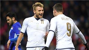 Đội tuyển Ý: Bài toán hàng công cho Mancini