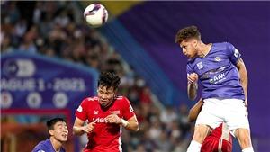 Hà Nội FC dùng bóng bổng để thắng HAGL