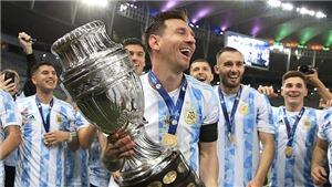 Copa America 2021: MessiTina vô địch Copa trong ngày bóng đá chiến thắng