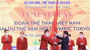 Đoàn Thể thao Việt Nam dự Olympic Tokyo: Khát vọng chiến thắng