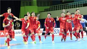Futsal Việt Nam chinh phục đấu trường World Cup