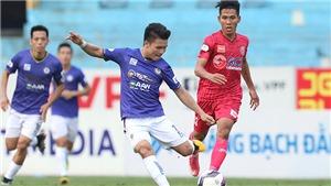 Hà Nội FC phải thắng SLNA để mơ về TOP 6