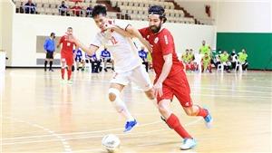 Futsal Việt Nam lần thứ 2 tới World Cup