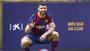 Barcelona: Aguero là hợp đồng của Messi