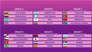 Futsal Việt Nam lạc quan ở World Cup