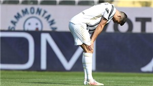 "Serie A vòng 33: CR7 ""mất tích"", Juve nhìn Inter về đích"