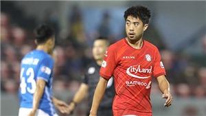 Lee Nguyễn nén đau hướng tới cuộc đấu với Sài Gòn FC